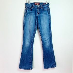 Lucky Brand Blue Jeans Sofie Boot Cut Size 4/27 L